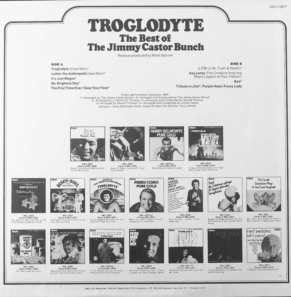 Troglodyte (Back)